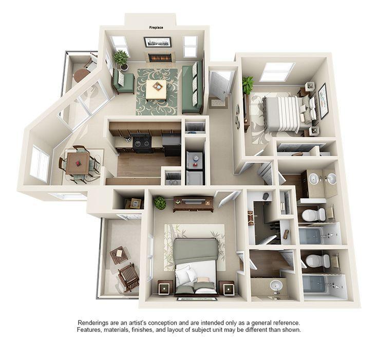 1 2 Bedroom Apartments For Rent In Austin Floor Plans Austin Texas Apa Apartment Plans Apartment Layout Apartment Blueprints