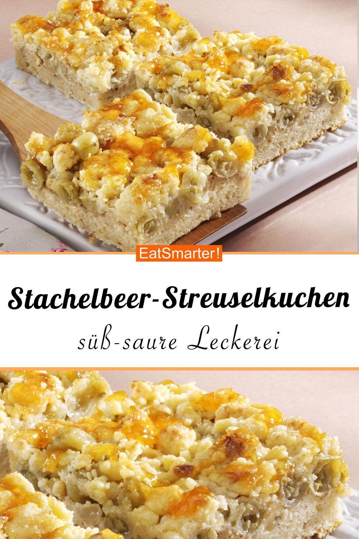 Photo of Stachelbeerkuchen mit Streuseln – smarter – Kalorien: 212 kcal – Zeit: 20 Min.  …