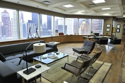 Suits Set Visit Part 1 A Trip To The Toronto Set Of Usa S Legal Drama Modern Office Design Executive Office Design Interior Executive Office Design