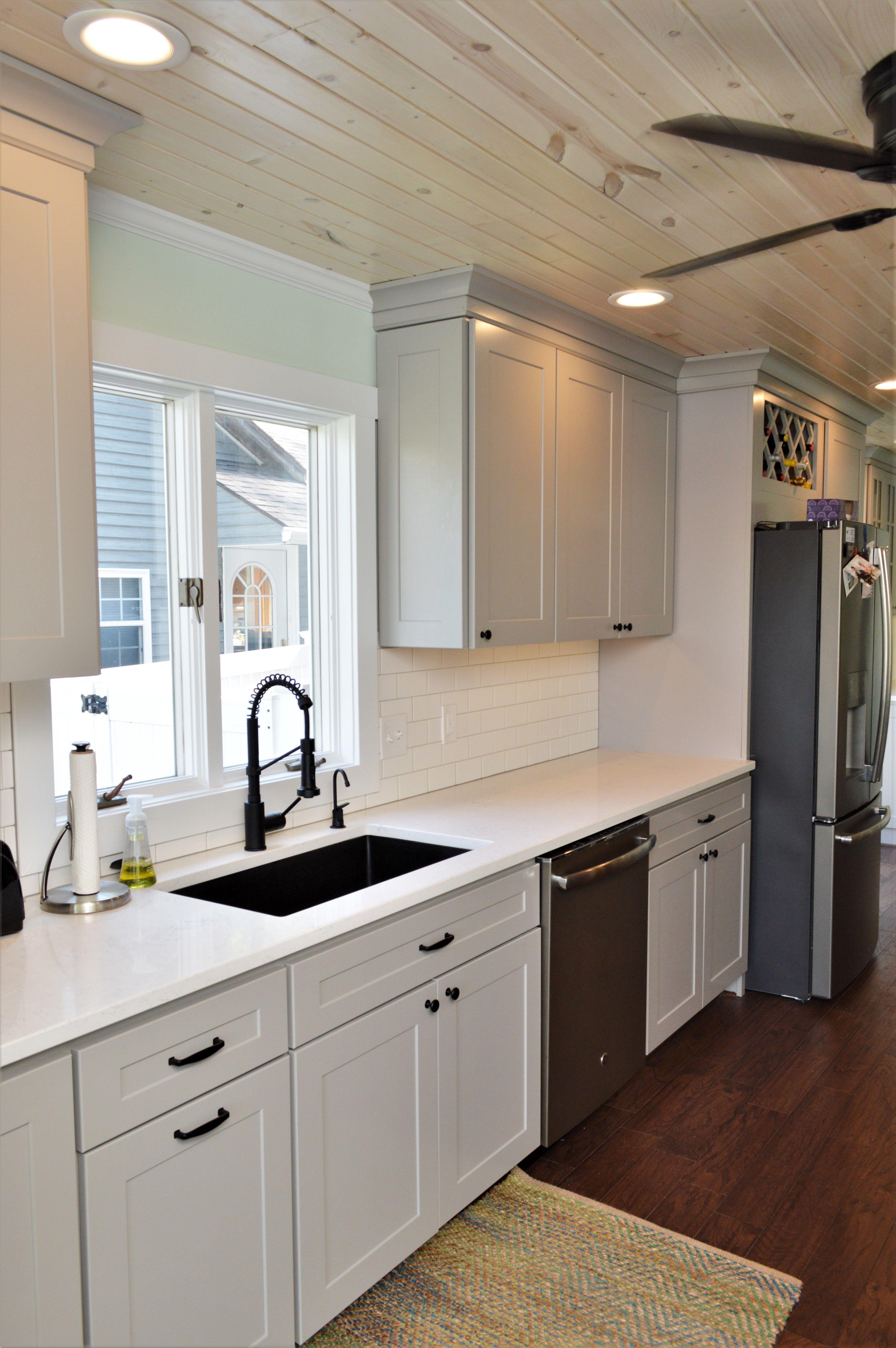 Baileytown Select Maple Limestone Finish Jamestown Door Style Kitchen Remodel Maple Cabinets Kitchens Bathrooms