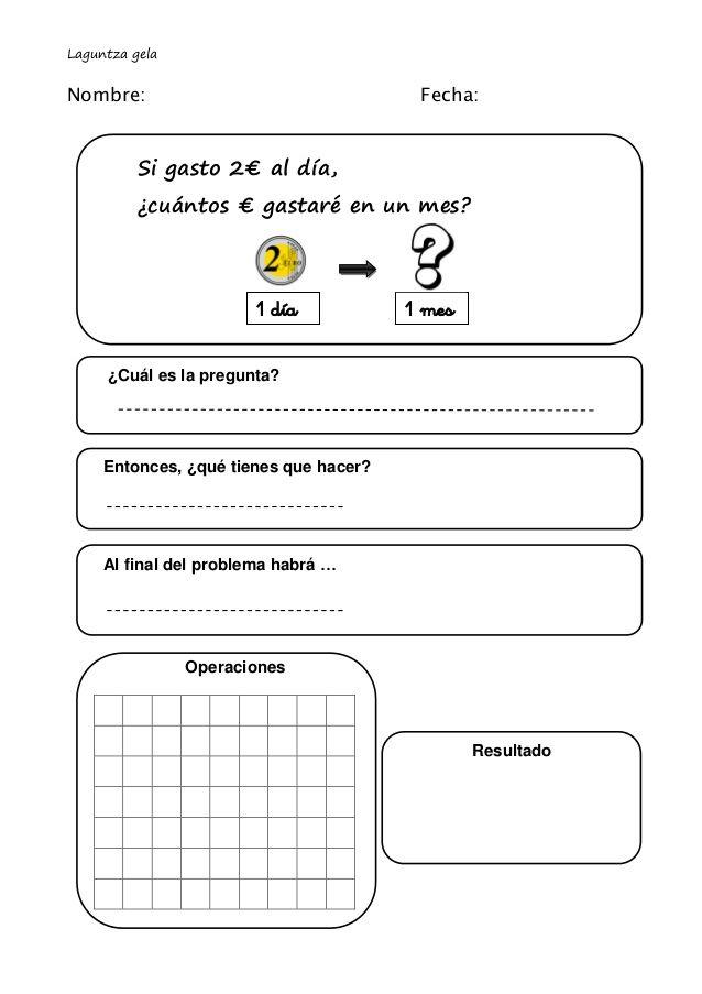 PLANTILLA OPERACIONES - Buscar con Google | Matemáticas ...