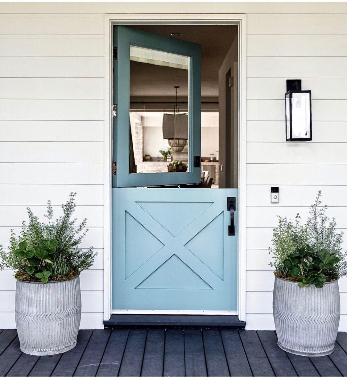 Pin By Jenifer Thomas On Enter Dutch Doors Exterior Dutch Door House Exterior