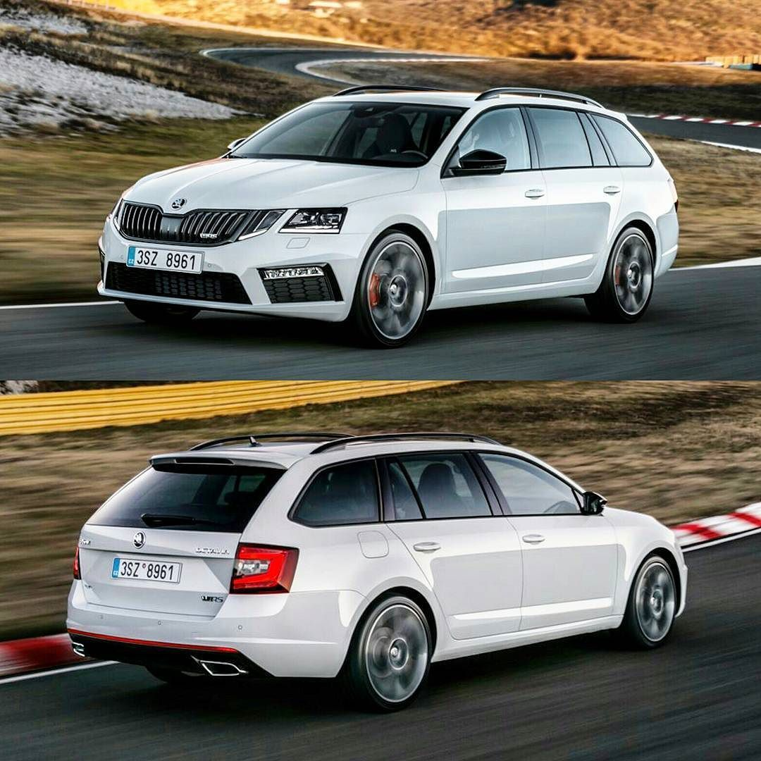 Skoda Octavia Estate RS 2017 Save the wagons! Essa é a