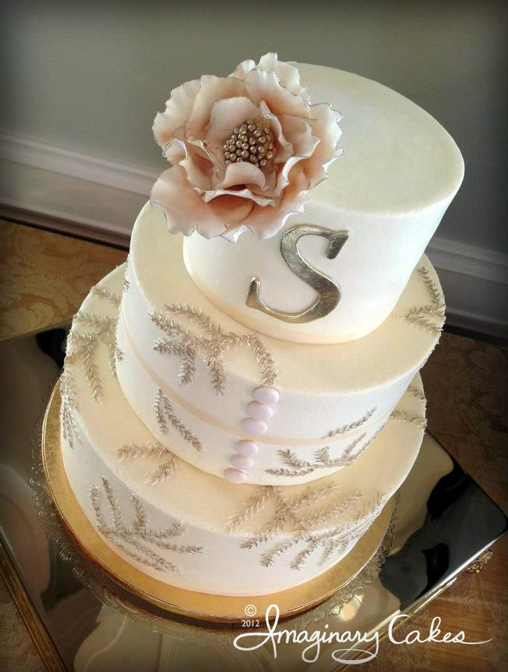 My Wedding Cake By Imaginary Cakes In Wilmington NC.