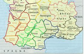 Dipartimenti Francia Cartina.Dipartimenti Francia Cartina Francia Mappe E Vacanze