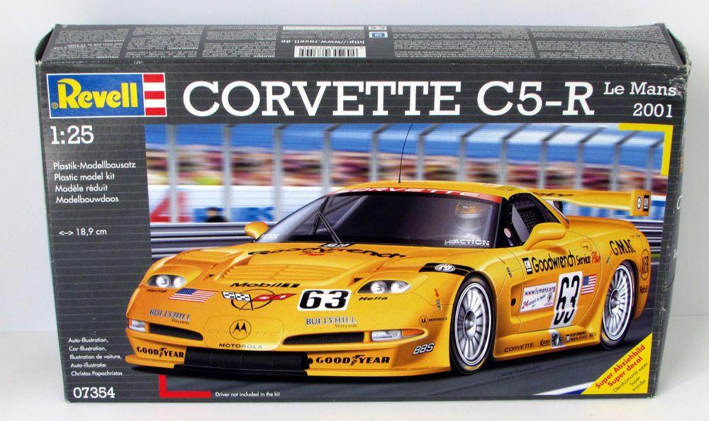 corvette c5 r revell germany 07354 1 24 scale race car. Black Bedroom Furniture Sets. Home Design Ideas