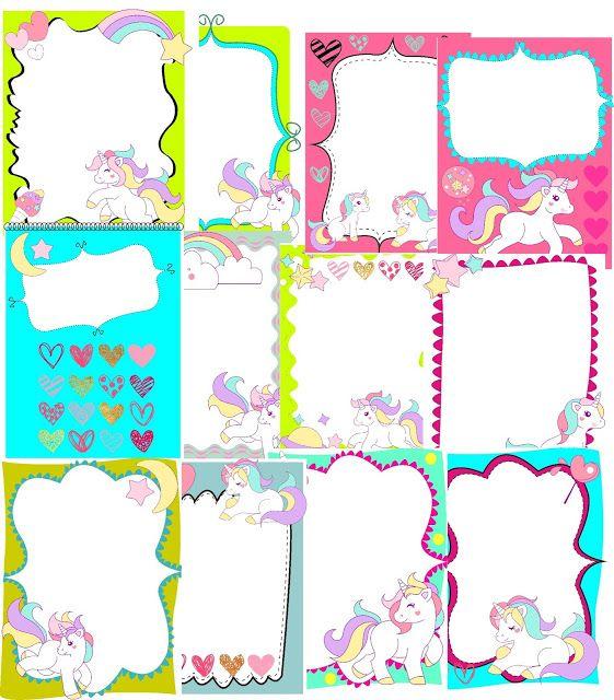 ZONA DESCARGAS: COLECCION My Pony | imprimibles | Pinterest ...
