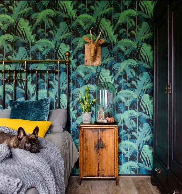chambre tropicale l 39 exotisme la maison chambre cosy. Black Bedroom Furniture Sets. Home Design Ideas