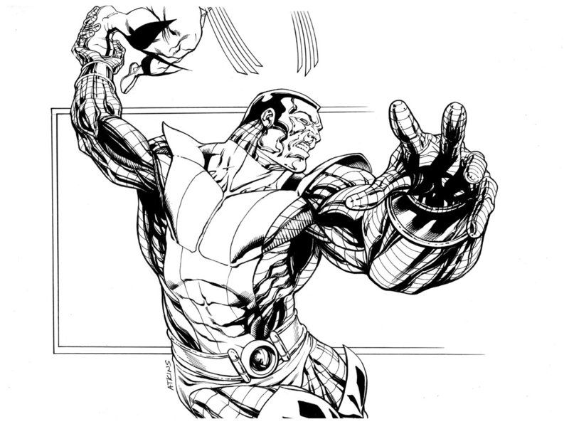 Colossus by Robert Atkins