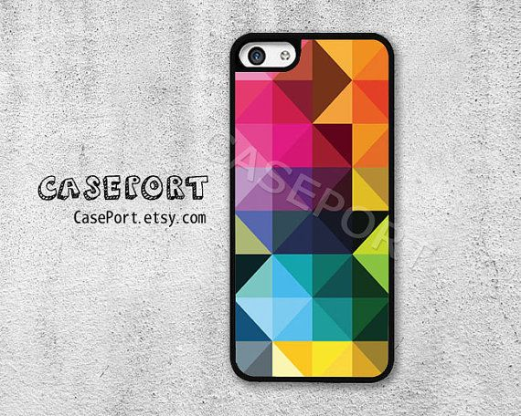 iPhone 5C Case, iPhone 5C Cover, iPhone case, iPhone Hard Case, Colorful Graphic Design on Etsy, $6.99