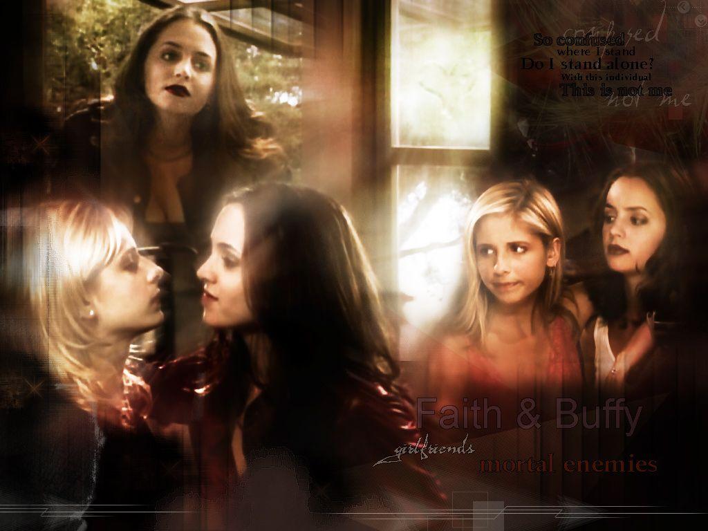Buffy The Vampire Slayer Wallpaper Faith Buffy Buffy Buffy The Vampire Buffy The Vampire Slayer