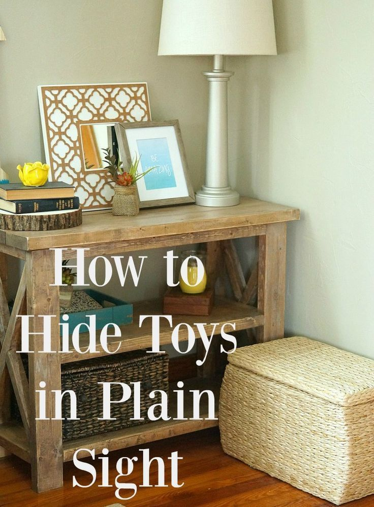 See how to hide all the kid clutter in plain sight by using attractive storage bins baskets and wicker trunks. It has been a game changer in our house! ad ... & How to Corral Kid Clutter in Plain Sight | Game changer Clutter and ...