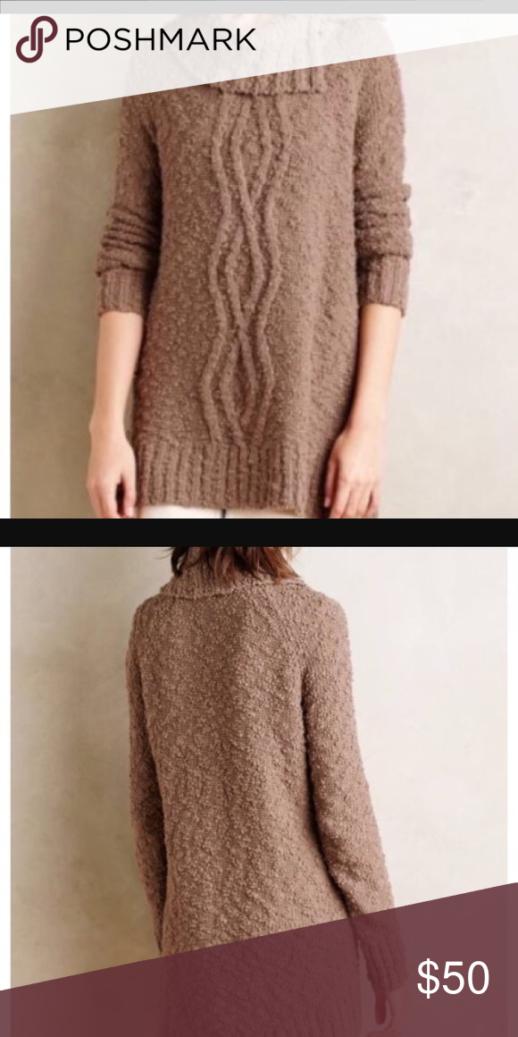 Anthropologie Moth Cowl neck Sweater-small