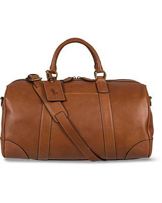 Polo Ralph Lauren Duffle Leather Bag Cognac i gruppen Vesker   Weekendbager  hos Care of Carl (12541910) f2f5114823035