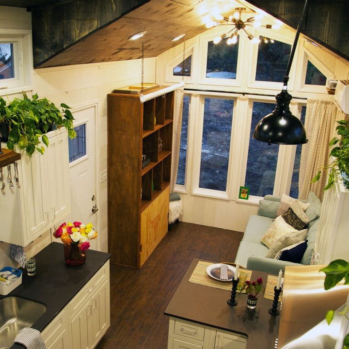 Bay window. Nothing else. tiny house nation … Small