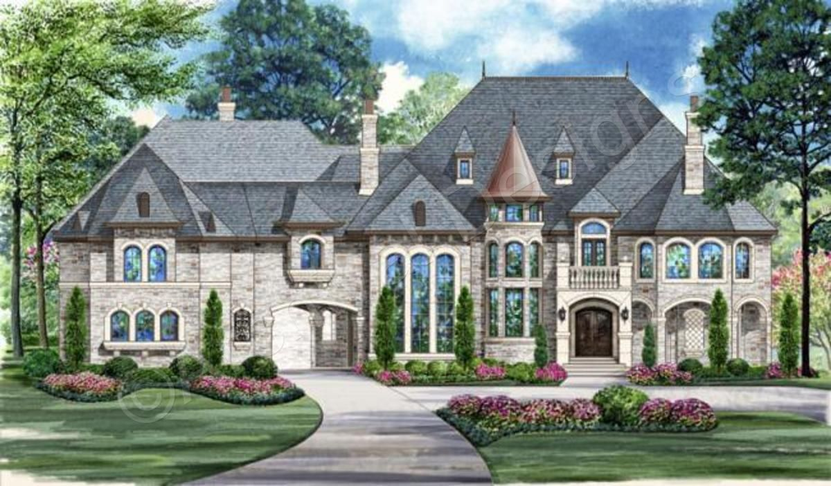 pretty french chateau house plans pictures best design - 1000×584