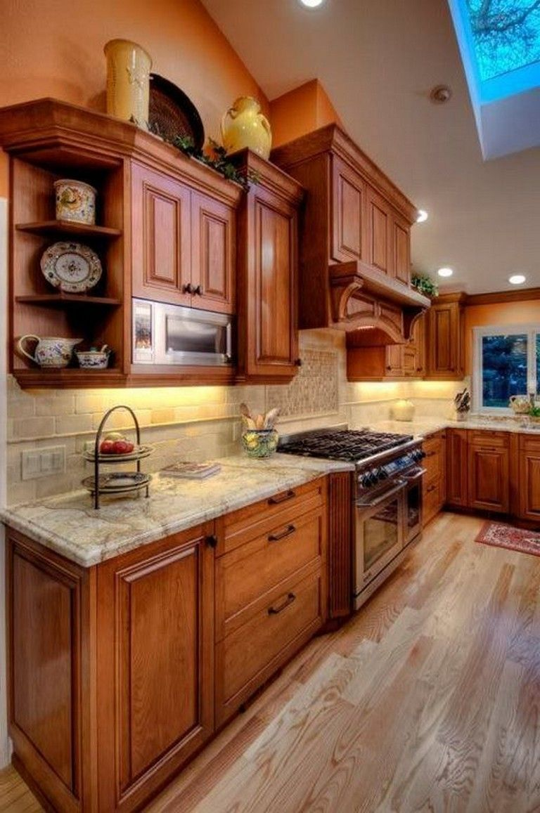 20 Top Oak Cabinet Design Ideas Kitchen With Images Kitchen