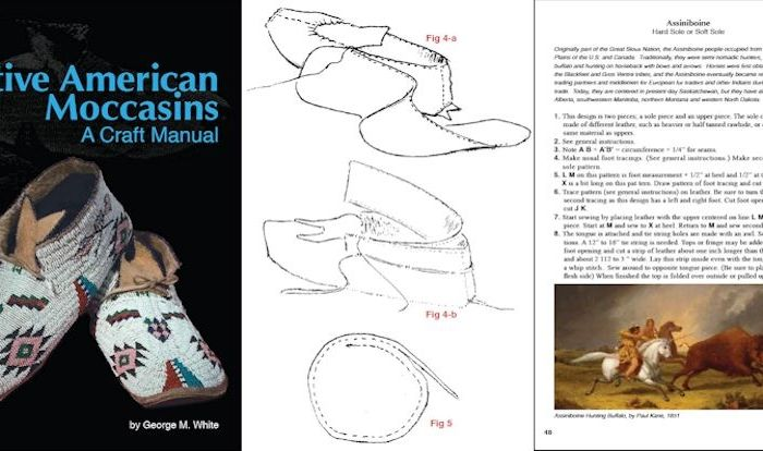 Native American Moccasins A Craft Manual By George M White Native American Moccasin Book Preview In 2020 Native American Moccasins Native American Wedding Dress Native American