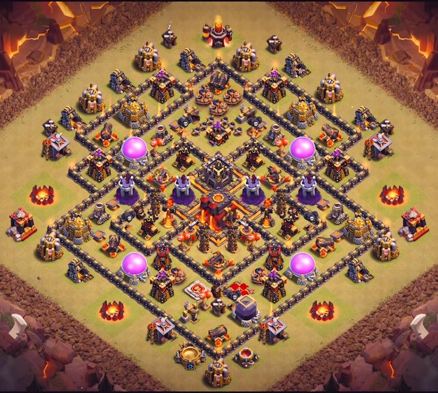 Best Th10 War Base Base Coc Th 10 3