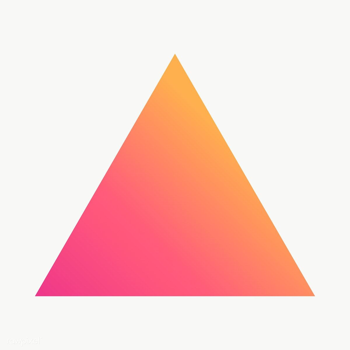 Gradient Triangle Geometric Shape Transparent Png Free Image By Rawpixel Com Ningzk V Printable Designs Geometric Shapes Geometric