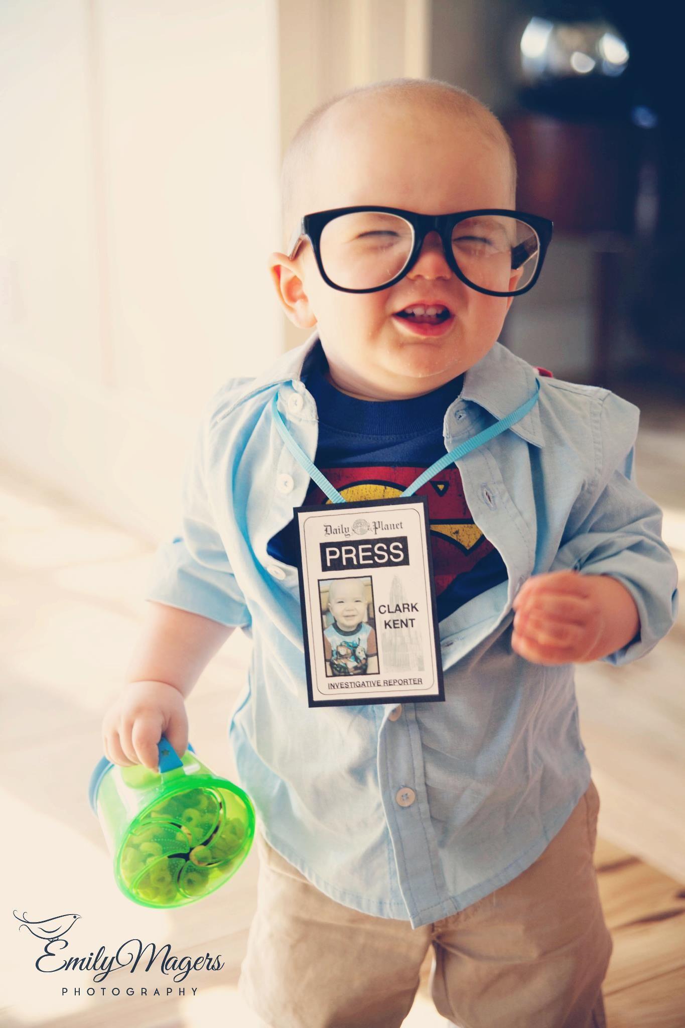 $1 Clark Kent Costume   #marigold_mom   Holidays   Pinterest ...