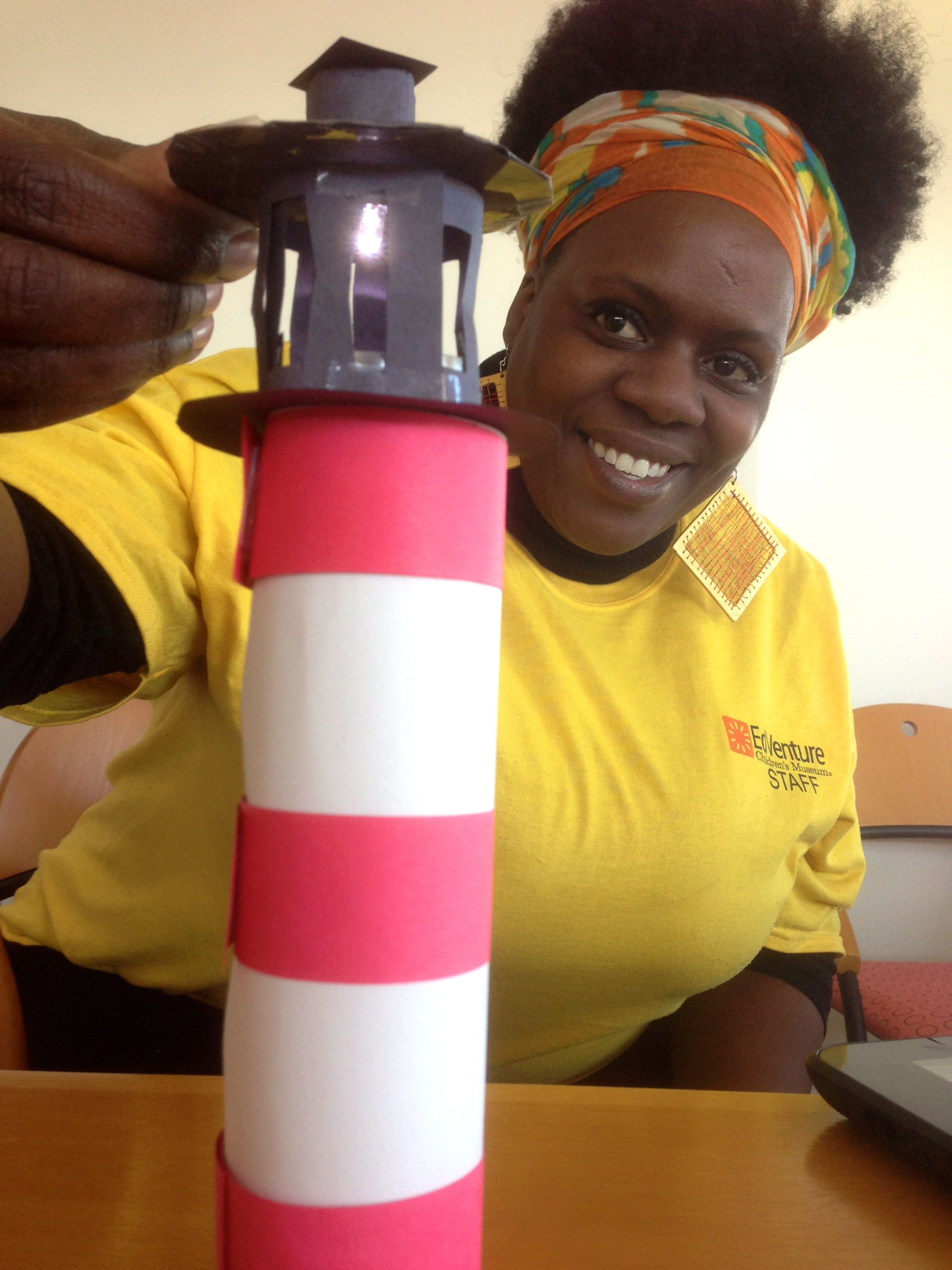 how to build a lighthouse for school project