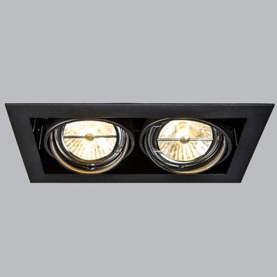Spot A Encastrer Oneon 111 2 Noir Lampen Lichtarmaturen Verlichting