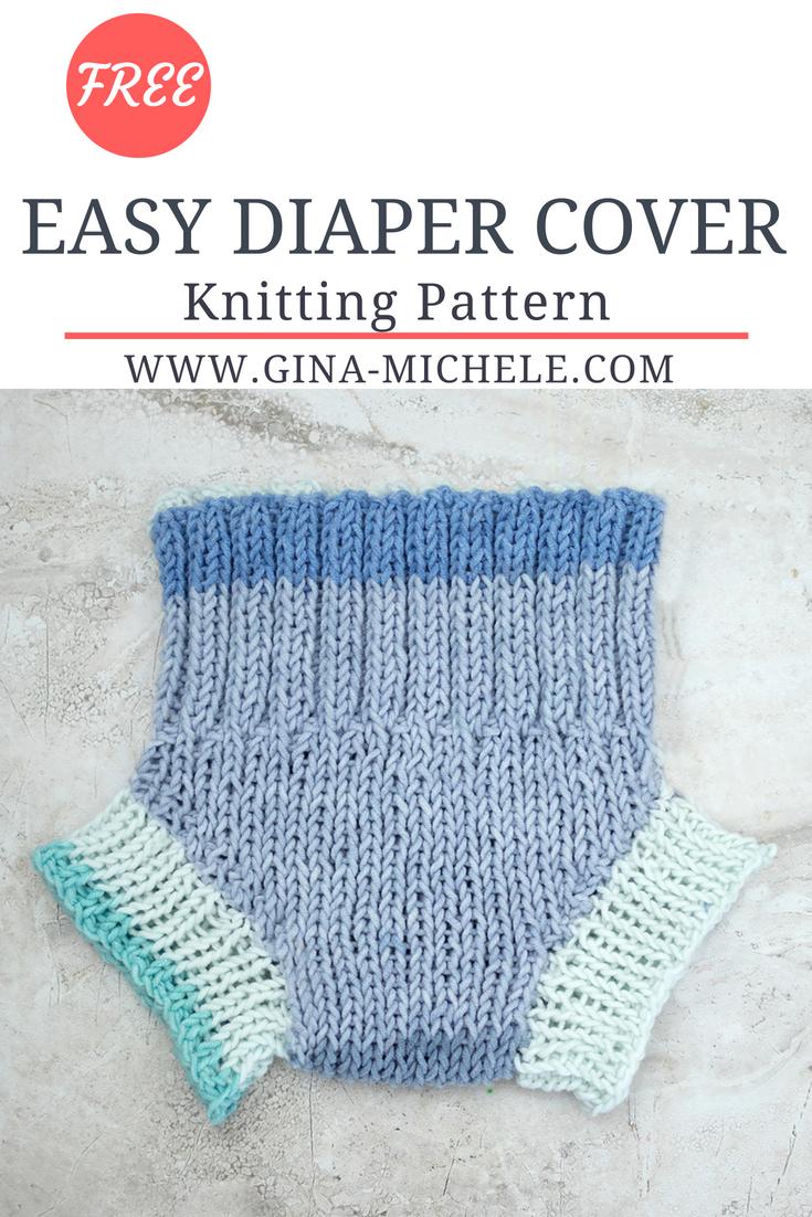 Easy Diaper Cover Knitting Pattern | Pinterest