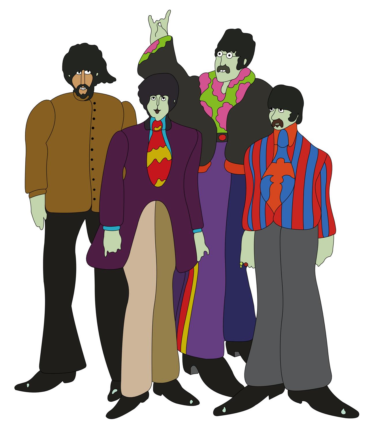 Beatles Yellow Submarine Cover Art Yellow Submarine Album Yellow Submarine Art Beatles Art