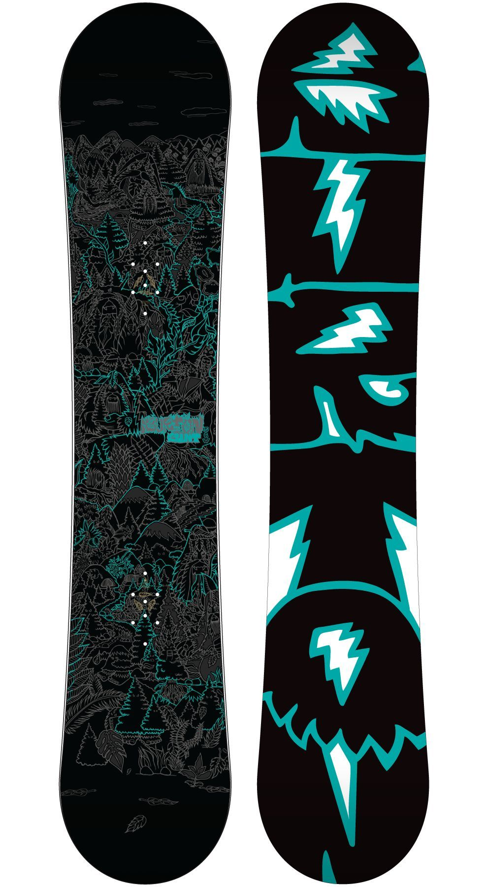 Lifted Lab Bigfoot Meets Mike Giant Burton snowboards