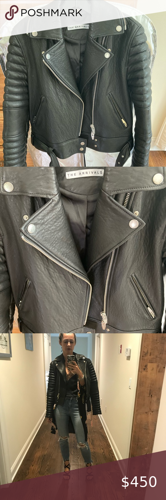 Leather Jacket Rainer 1 By The Arrivals Structured Slim Fit Fits Closer To The Body With Tailored Accents This Jacket Leather Jacket Jackets Clothes Design [ 1740 x 580 Pixel ]