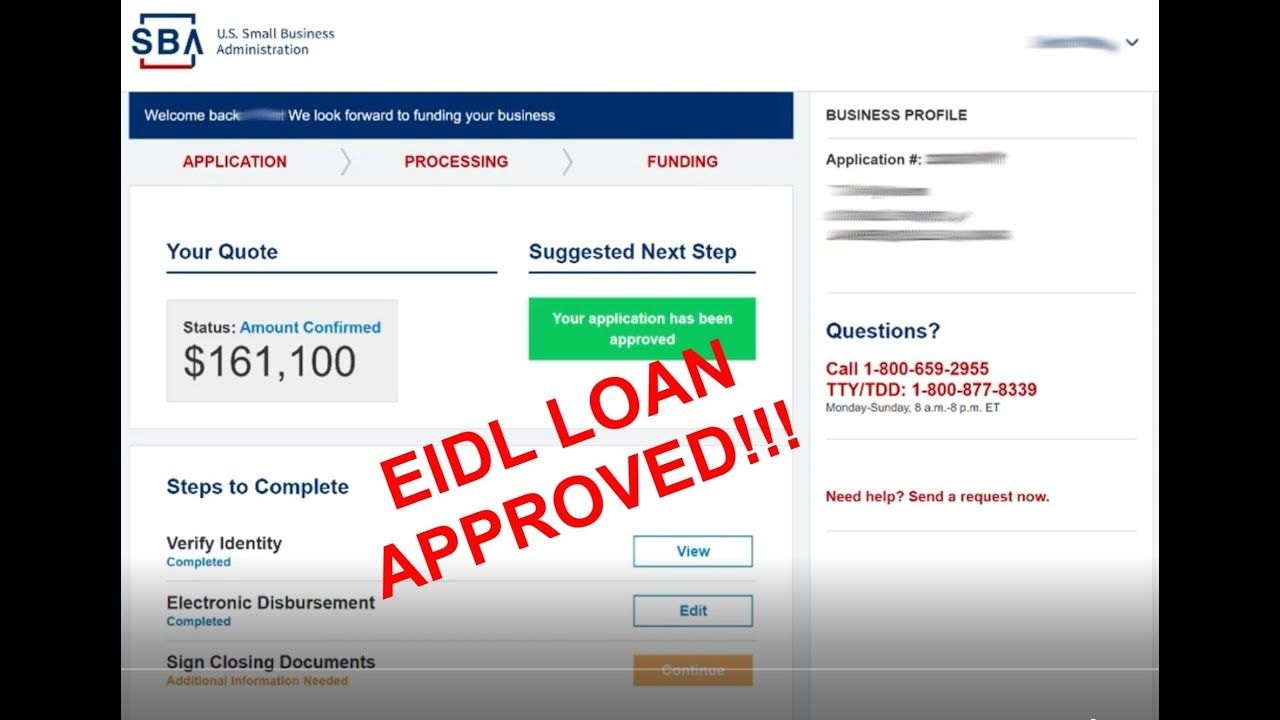 Do Not Make Business Decisions Based On Entrepreroofer S Videos Https Www Yugedebt Com Approved Beware Eidl Loan Laa Loa Make Business Loan Financial Advice