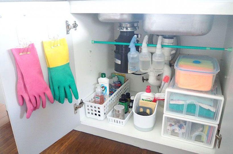 Photo of Wie man unter dem Spülbeckenschrank organisiert
