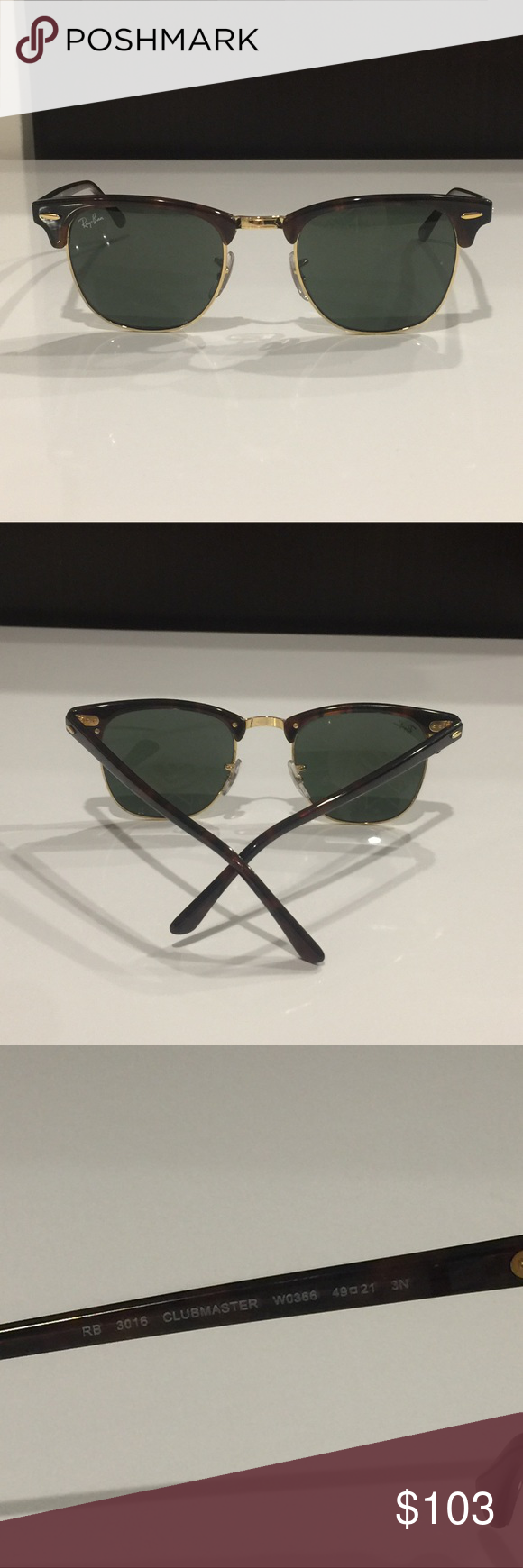 "Ray-ban ""clubmaster"" sunglasses 