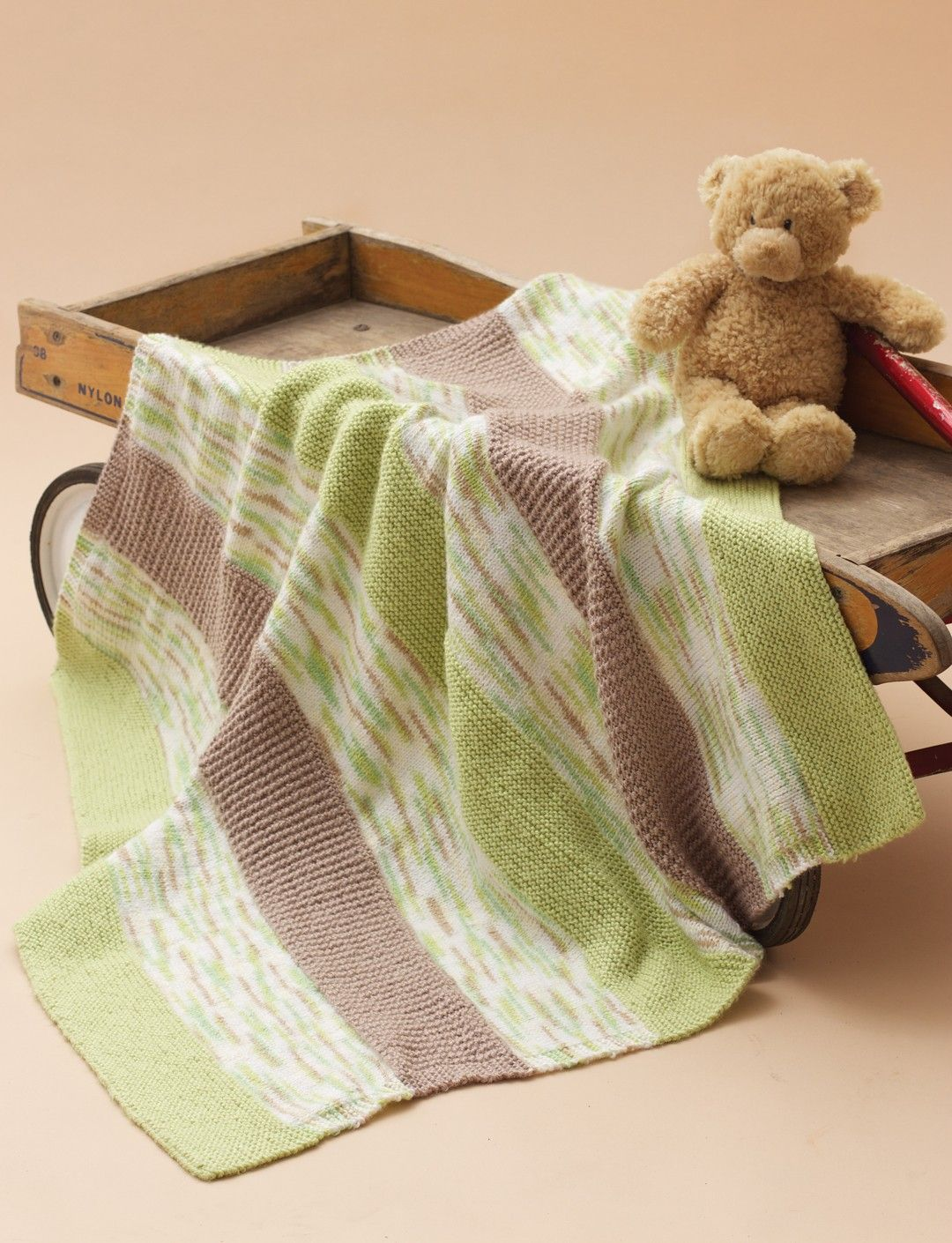 Yarnspirations.com - Bernat Textured Baby Blanket ...