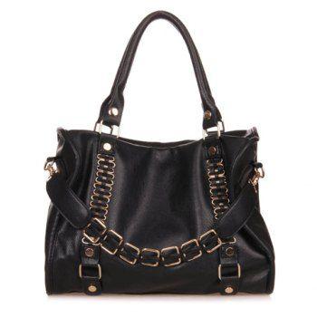 Handbags Black Leather Design And Vintage Womens Online