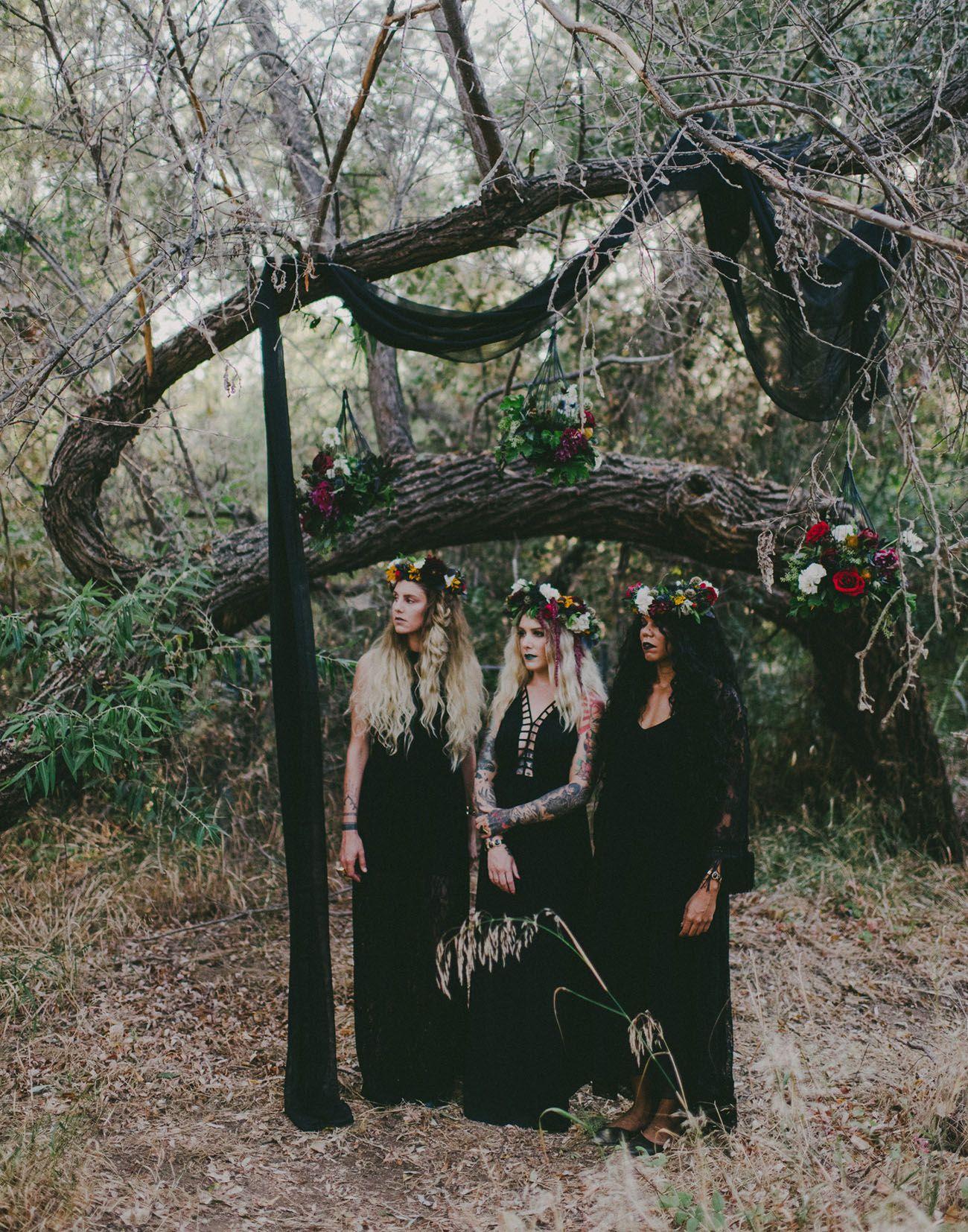 Spooky Autumn Equinox Bridal Shower | gypsy || boho ...