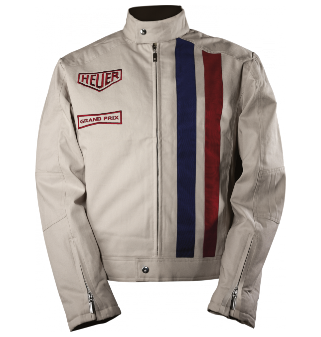 fcb6ae60c Tag Heuer jacket inspired by the racing suit worn by Steve McQueen ...