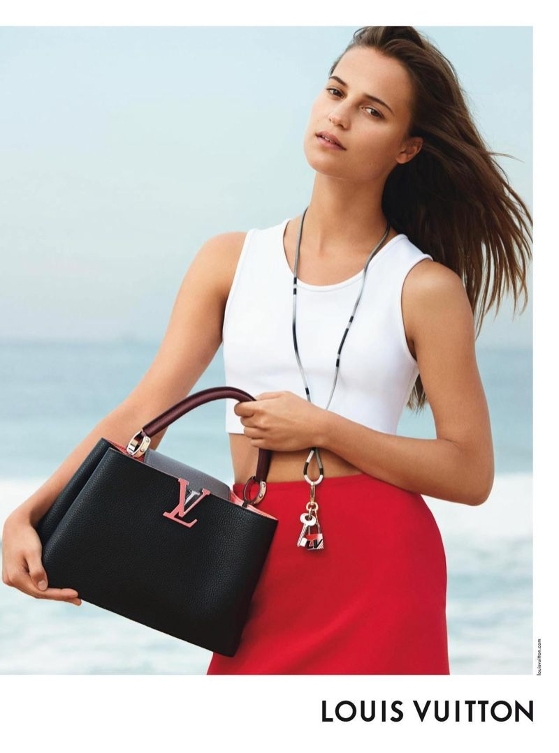 Alicia Vikander for Twist by Louis Vuitton images