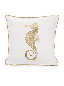 Dinah Seahorse Pillow