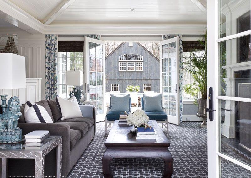 La Dolce Vita Modern New England Style By Tiffany Eastman Living Esgrey Roomsliving Room