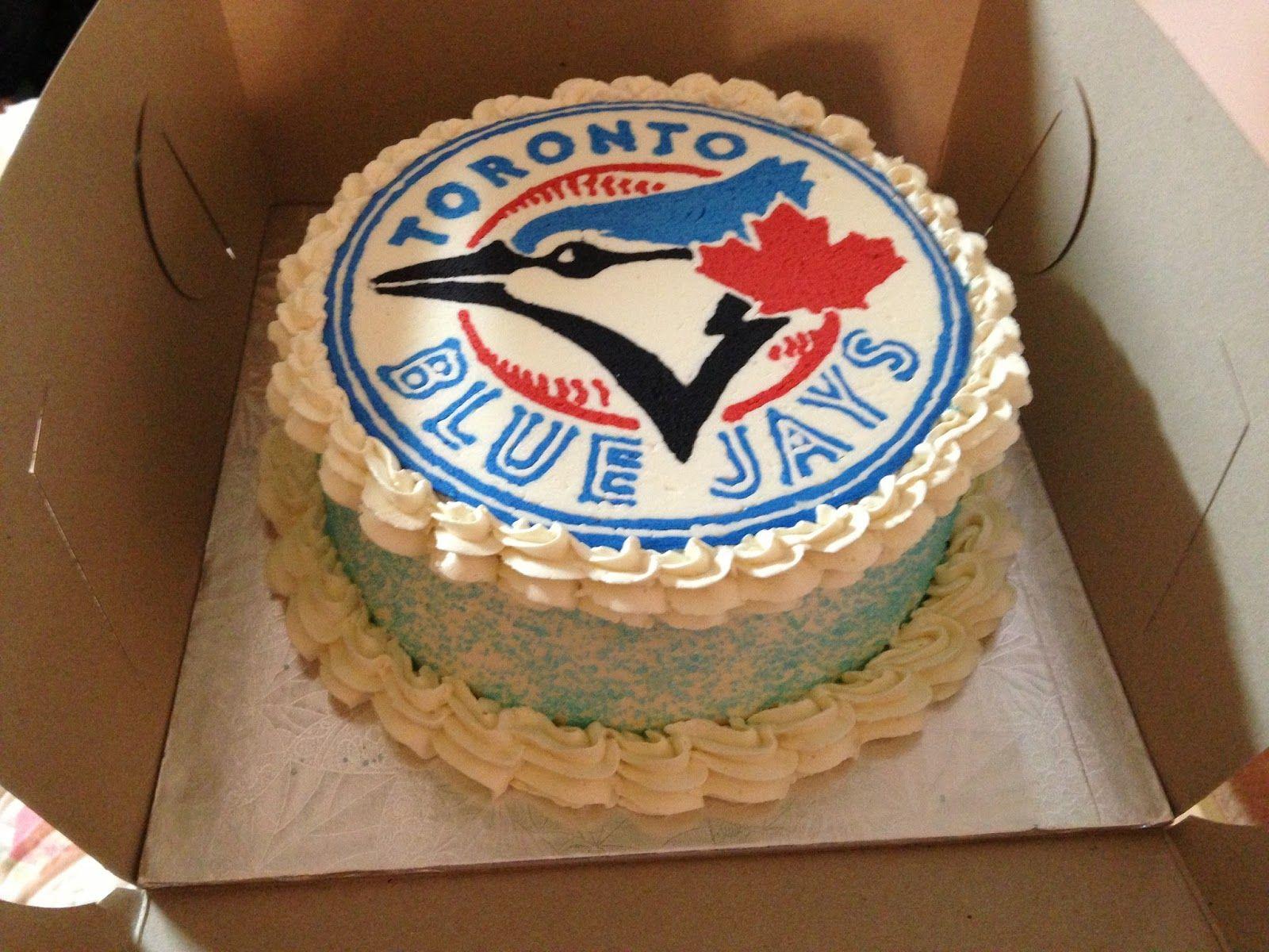 Crafting Baker Toronto Blue Jays Birthday Cake Kids birthday cake