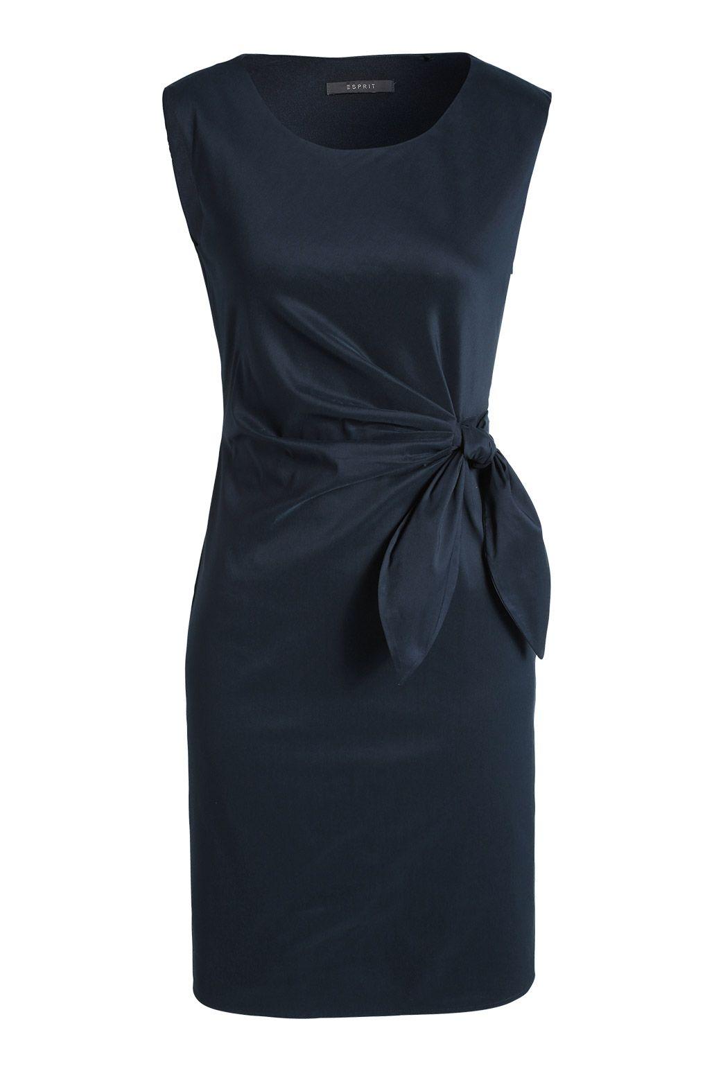 stretch kleid aus baumwolle   etuikleid outfit, kleider