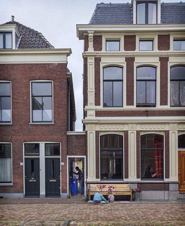 Vlamingstraat 40-02. De plek van het 'Straatje' van Vermeer.