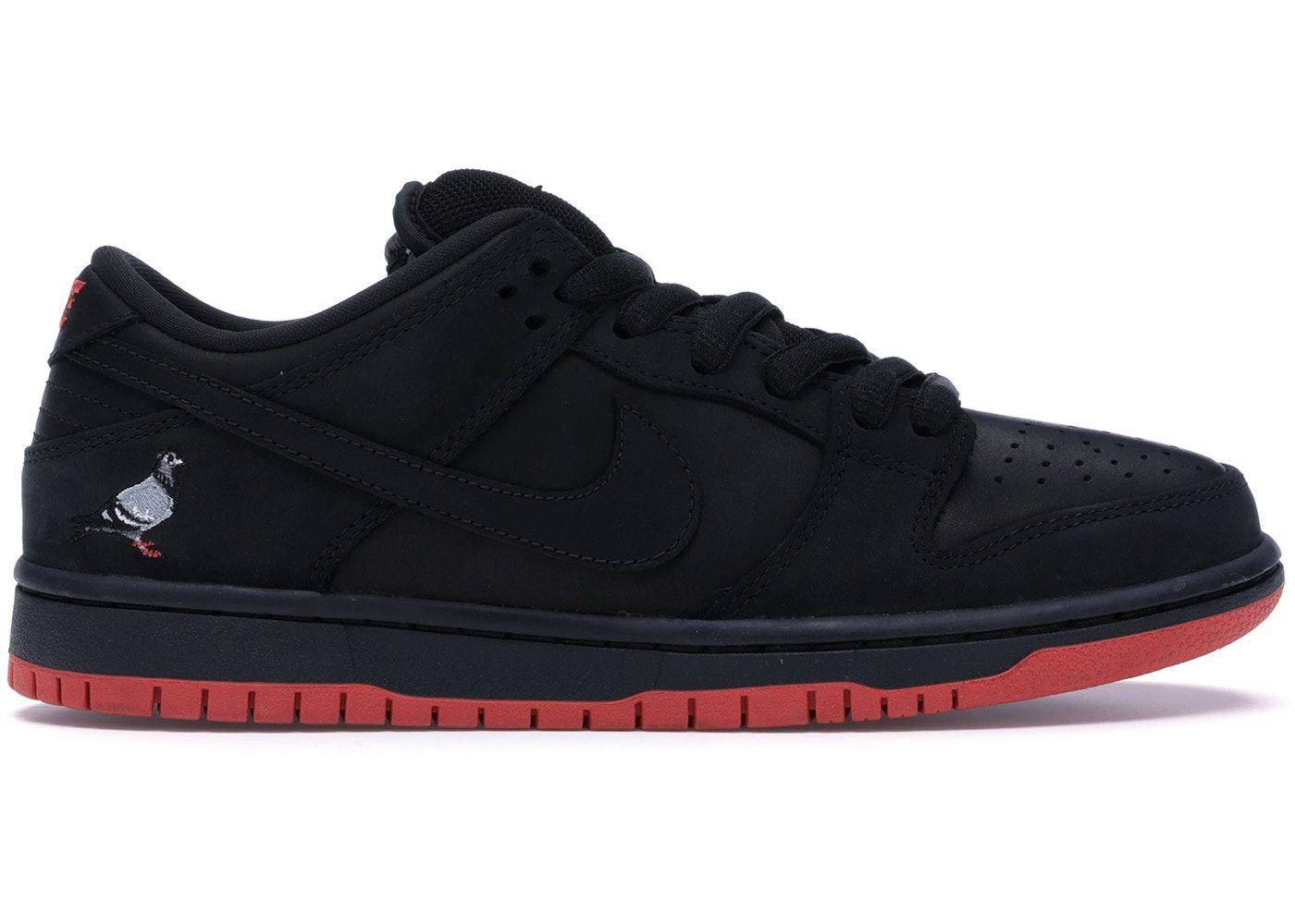 f48f7e40 Nike SB Dunk Low Black Pigeon in 2019 | Shoes | Nike sb dunks, Nike ...