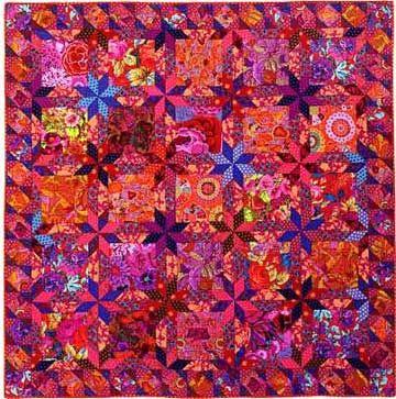 Pastel Star Bouquet Quilt by Kaffe Fassett (Country Garden Quilts ... : kaffe fassett quilt kits australia - Adamdwight.com
