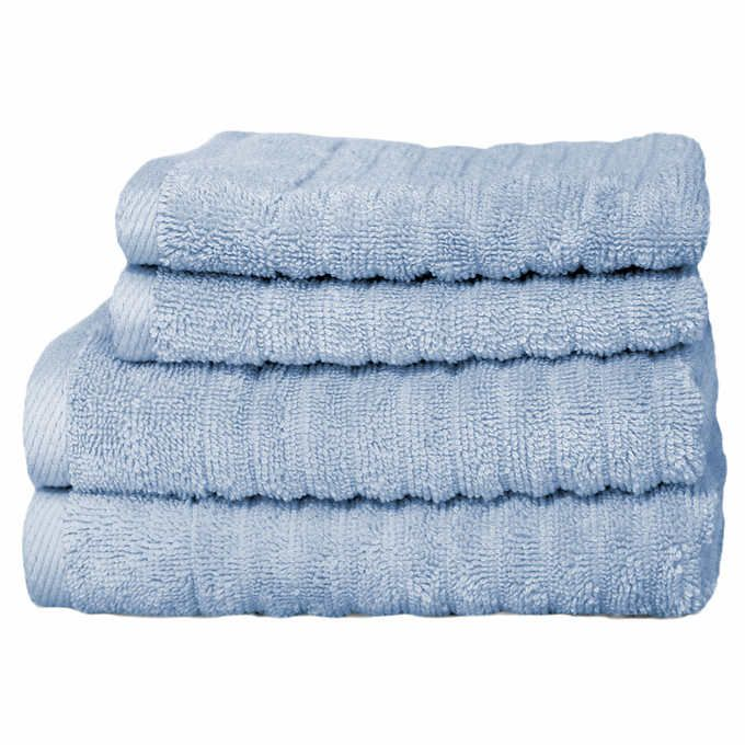 Charisma Bath Towels Endearing Costco  100% Hygro Cotton Charisma Bumpy Rib 2 Bath Towels Inspiration