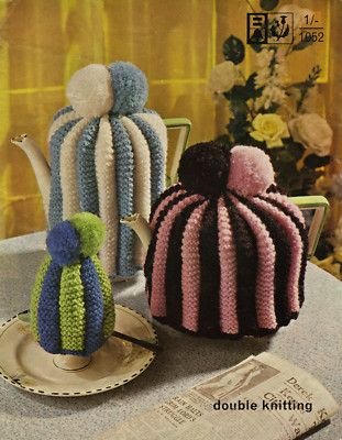 Knitting Pattern Traditional Tea Egg Cosies Vintage Crafty Things
