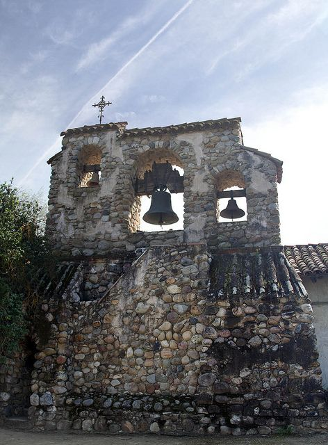 Mission San Miguel Arcangel Bell Tower Mission Bell World Map