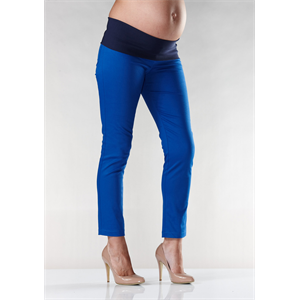 Are these gorgeous or what??    Stunning slim fitting maternity capri from Soon. Gorgeous high stretch fabric for a great fit, fold over tummy band for comfort. Team with red, black, white, pink, lemon - whatever takes your fancy. Easy to dress up or down. Made In Australia Viscose/Nylon/Spandex